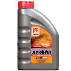 """Тормозная жидкость """"Лукойл"""" DOT-3 (910гр.)"""