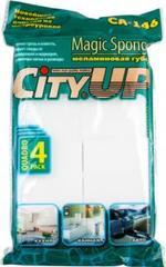 """Губка меламиновая """"CityUP""""  (8*5*2,2) 4 шт."""