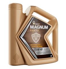 Масло моторное Rosneft Magnum Runtec 10w-40 SN/CF синтетика (4л.)