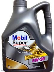 Масло моторное Mobil SUPER 3000  X1 5W-30 синт. (4 л.)
