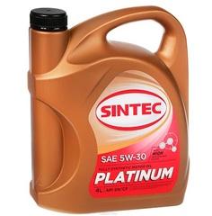 Масло моторное SINTEC PLATINUM 5W-30 SN/CF синт. (4 л.)