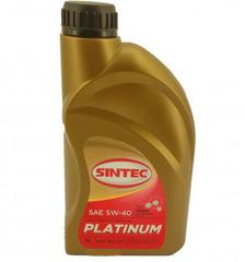 Масло моторное SINTEC PLATINUM 5W-40 SN/CF синт. (1 л.)