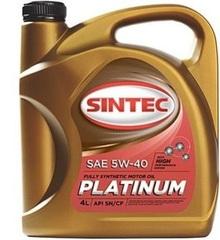 Масло моторное SINTEC PLATINUM 5W-40 SN/CF синт. (4 л.)
