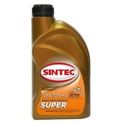 Масло моторное SINTEC SUPER 10W-40 SG/CD п/синт. (1 л.)