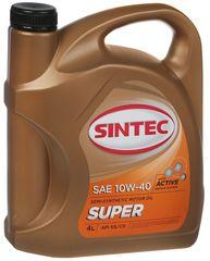 Масло моторное SINTEC SUPER 10W-40 SG/CD п/синт. (4 л.)