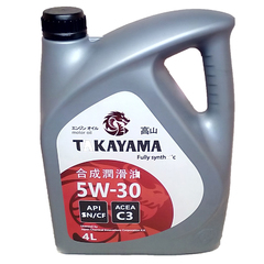 Масло моторное TAKAYAMA 5W-30 SL/CF C3 п/синт. (4 л.)