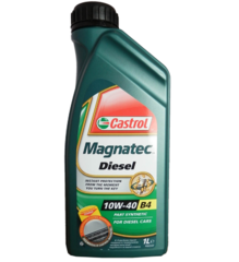 Масло моторное Castrol Magnatec Diesel 10w-40  п/синт. (1 л.)
