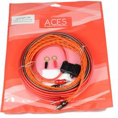 """Проводка подключения усилителя """"ACES"""" KIT 2.10 (2-х канал.)"""