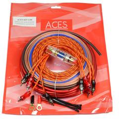"""Проводка подключения усилителя """"ACES"""" KIT 2.08 (2-х канал.)"""