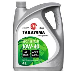 Масло моторное TAKAYAMA 10W-40 SL/CF п/синт. (4 л.)