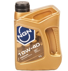 Масло моторное NGN PREMIUM 10w-40 SL/CF п/синтетика (1л.)