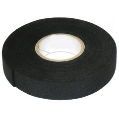 Изолента ПВХ черная 25мм х 25м с термоклеем