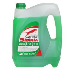 Антифриз SIBIRIA G11 зеленый (3 кг.)