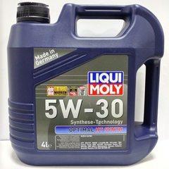 Масло моторное LIQUI MOLY 5W-30 Optimal Syntn A3/B4 (4л.) синт.