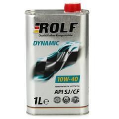 Масло моторное ROLF Dynamic 10W-40 Sl/CF  п/синтетика (1 л.)