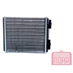 """Радиатор отопителя 2107 (алюм.) """"ПОАР"""" (3-х рядный)"""