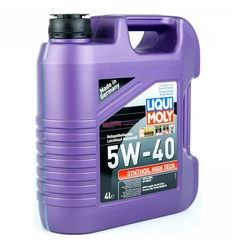 Масло моторное LIQUI MOLY 5W-40 Synthoil High Tech (4л)