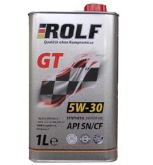 Масло моторное ROLF GT 5W-30 API SN/CF  синтетика (1 л.)