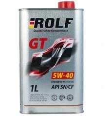 Масло моторное ROLF GT 5W-40 API SN/CF синтетика (1 л.)