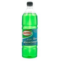 """Жидкость стеклоомывателя """"SINTEC"""" Летний Мошкомой 1л. концетрат"""