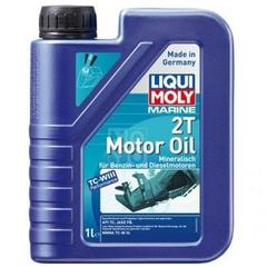 Масло моторное LIQUI MOLY  2T Marine MOTOR OIL 1л