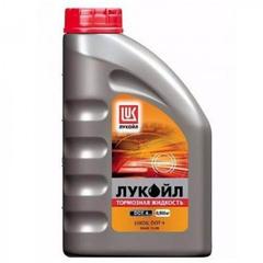 """Тормозная жидкость """"Лукойл"""" DOT-4 (910гр.)"""