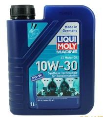 Масло моторное LIQUI MOLY  4T Marine Motoroil 10W30 1л