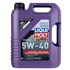 Масло моторное LIQUI MOLY 5W-40 Synthoil High Tech (5л)
