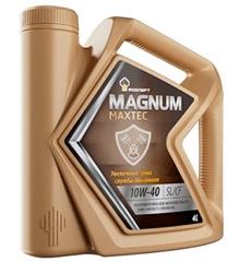 Масло моторное Rosneft Magnum Maxtec 10w-40 п/синтетика (4л.)