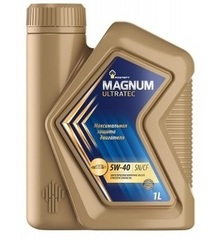 Масло моторное Rosneft Magnum Ultratec 5w-40 синтетика (1л.)
