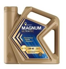 Масло моторное Rosneft Magnum Ultratec 5w-40 синтетика (4л.)