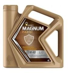 Масло моторное Rosneft Magnum Maxtec 5w-40 п/синтетика (4л.)