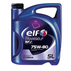 Масло транс. ELF 75W-80 TRANSELF NFJ GL-4 5л