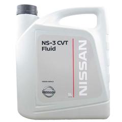 Масло транс. NISSAN NS-3 CVT для вариаторов (5 л.)