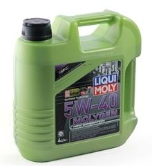 Масло моторное LIQUI MOLY 5W-40 Molygen A3/B4 (4л.) синт.