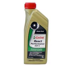 """Тормозная жидкость """"Castrol"""" React Performance DOT-4 (1л)"""