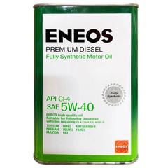 Масло моторное ENEOS 5W-40 CI-4 PREMIUM DIESEL (4л.) синт.