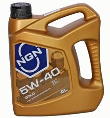 Масло моторное NGN GOLD 5w-40 SN/CF синтетика (4л.)