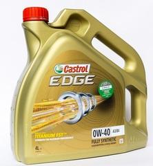 Масло моторное Castrol EDGE 0w-40 А3/В4 Titanium FST (4 л.)