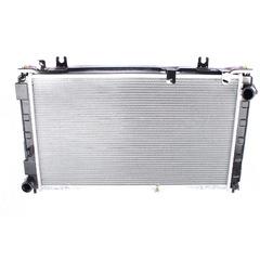 """Радиатор охлаждения 2190,2192 """"ПОАР""""(алюм.) МКПП A/C (2-х рядный)"""