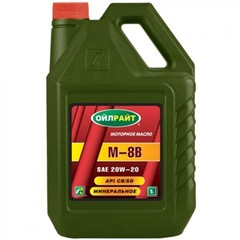 Масло моторное OIL RIGHT M8B SAE 20w-20 (5 л.)