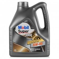 Масло моторное Mobil SUPER 3000  X1 Diesel 5W-40 синтетика (4 л.)