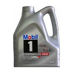 Масло моторное Mobil 1 Extended Life 10W-60 синт. (4 л.)