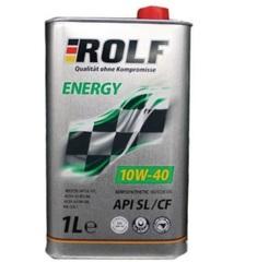 Масло моторное ROLF Energy 10W-40 API Sl/CF п/синтетика (1л.)