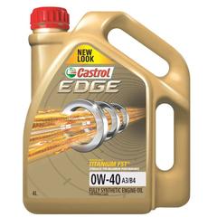 Масло моторное Castrol EDGE 0w-40 А3/В4  синт. (4 л.)
