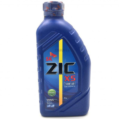 Масло моторное ZIC X5 10w-40 DIESEL (1л.) п/синт.